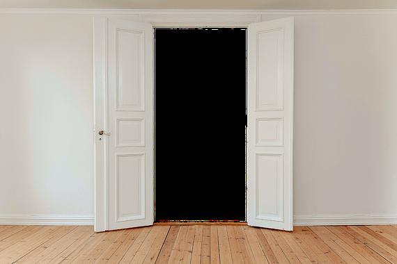 custom hinged door